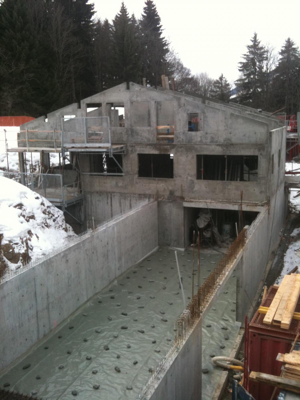 Abbe joseph ma onnerie et gros oeuvre haute savoie 74 - Construction maison en beton arme ...